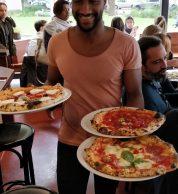 Pizze (Pizzeria Theo's, Southwark, Londra)