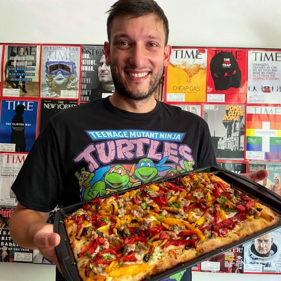 Unregular Pizza Gabriele Lamonaca New York pizza