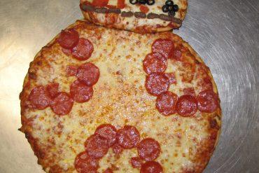 Star Wars day pizza