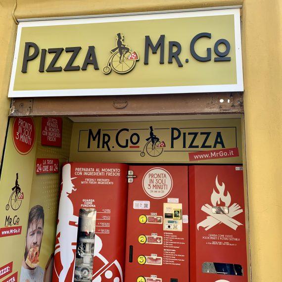 Distributore Pizza Roma Mr Go