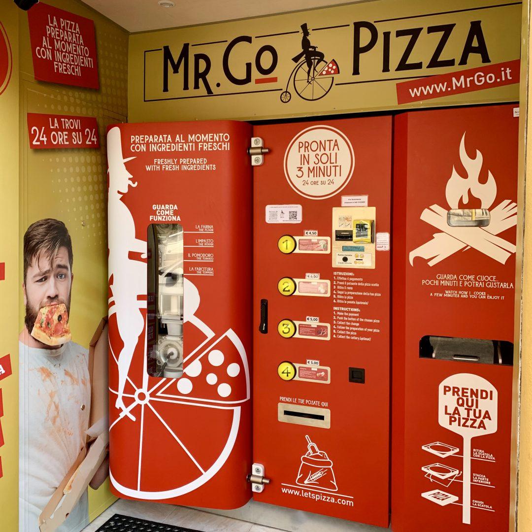 Distributore Pizza Roma