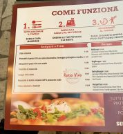 Menu (Pizzeria Rosso Vivo, Chianciano Terme)