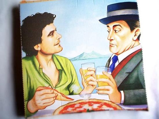 Pizza a Napoli anni 80