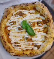 Pizza contemporanea (La Gioia di Zi Mariuccia, Mondragone, Caserta)