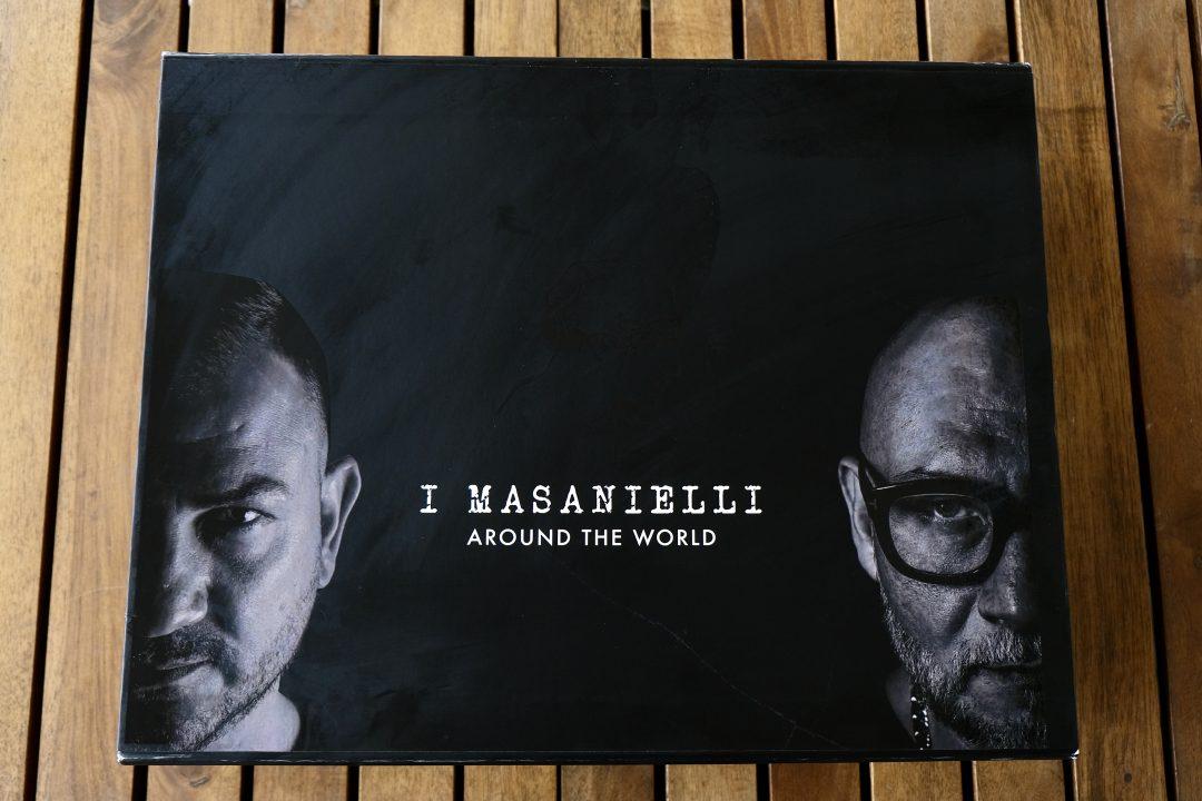 """Pizza box """"I Masanielli Around the World"""""""