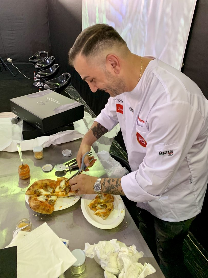Sasà Martucci alla Città della Pizza
