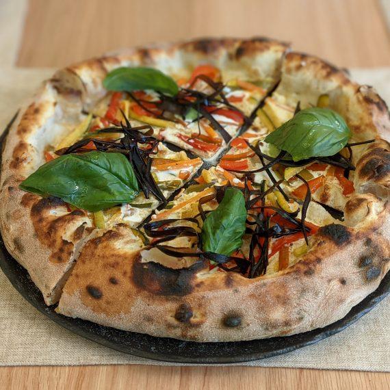 Pizza Orto a colori 2 (Pizzeria La Bolla Caserta)