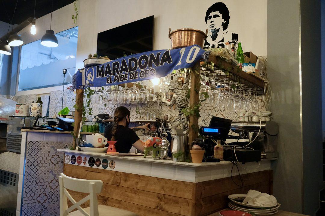 Bar (Pizzeria D10S, Roma)