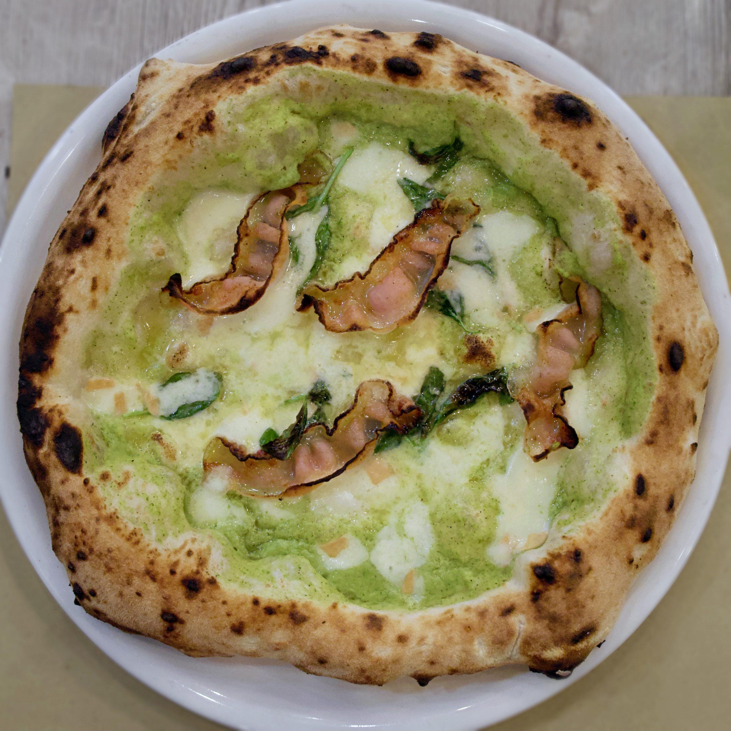 Pizza Totti (Pizzeria D10S, Roma)