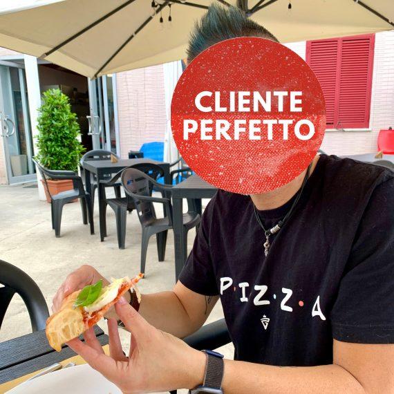 Il Cliente Perfetto in pizzeria