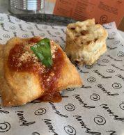 Montanara e frittatina 2 (Pizzeria Pisani, Pozzuoli)