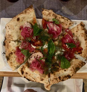 Pizza Tonno e Cipolla 2.0 (Fuoco Matto, Firenze)