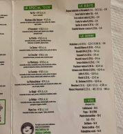 "Menu Pizze speciali (Pizzeria Onda Verde ""Da Finistone"", Mondragone)"