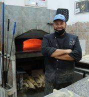 Forno e pizzaiolo (Pizzeria Aria nuova, Formia)