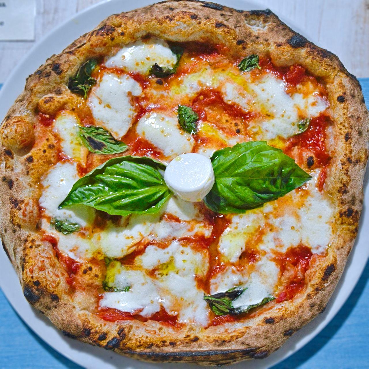 Margherita (Pizzeria Aria nuova, Formia)