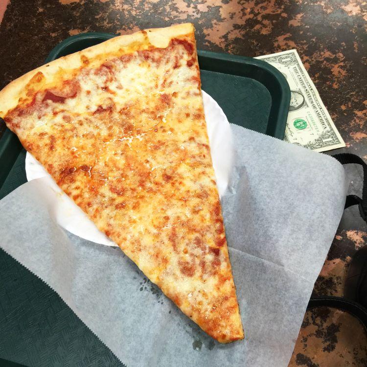 Slice pizza new york