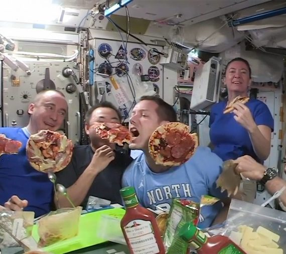 pizza party iss
