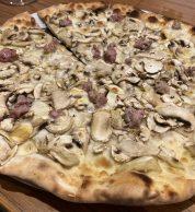 Pizza boscaiola (180grammi, Prenestino, Roma)