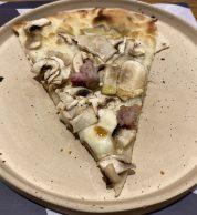 Pizza boscaiola 2 (180grammi, Prenestino, Roma)
