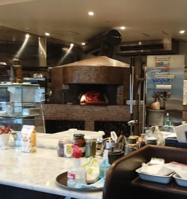 Forno (Pizzeria L'oro di Napoli, Kagoshima)
