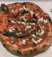 Pizza (Trattoria Campania, Kagoshima)